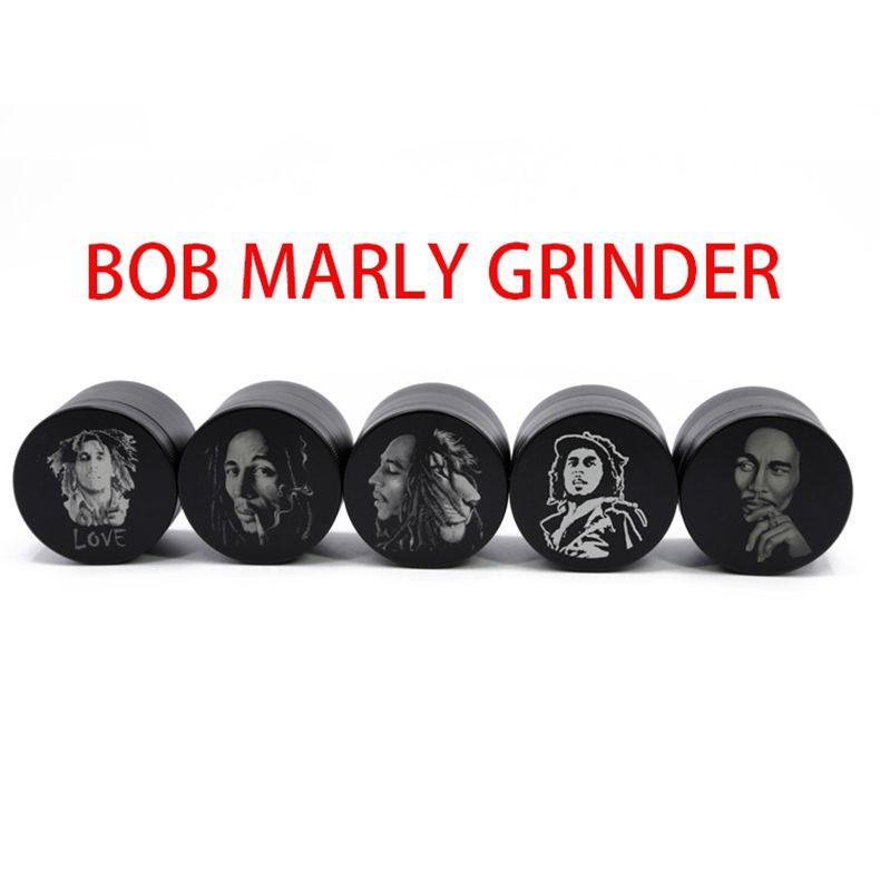 Bob Marley smerigliatrice VS Sharpstone smerigliatrici modelli multipli in lega di zinco Crusher 50mm di diametro 4 strati 5040A