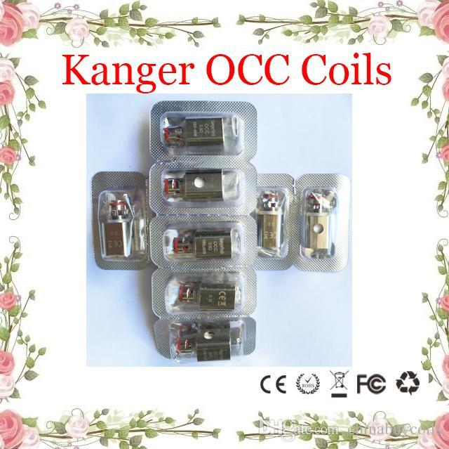 Новая катушка OCC Subtank Kanger вертикальная модернизировала 0.15 ohm/0.2/0.5/1.2/1.5 ohm fit Kangertech Subtank мини нано плюс