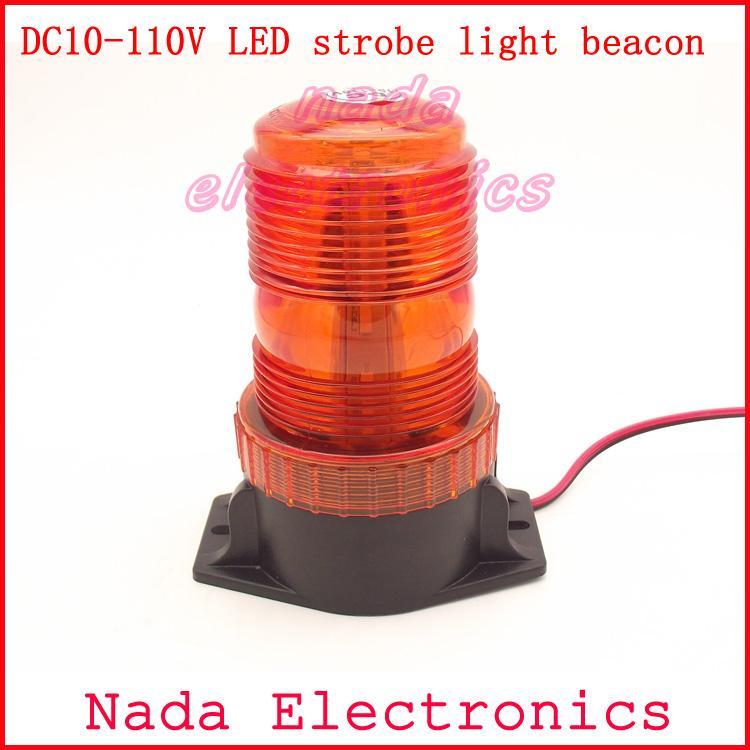 Dc10v 110v High Power Led Strobe Light Beacon Forklift Warning ...