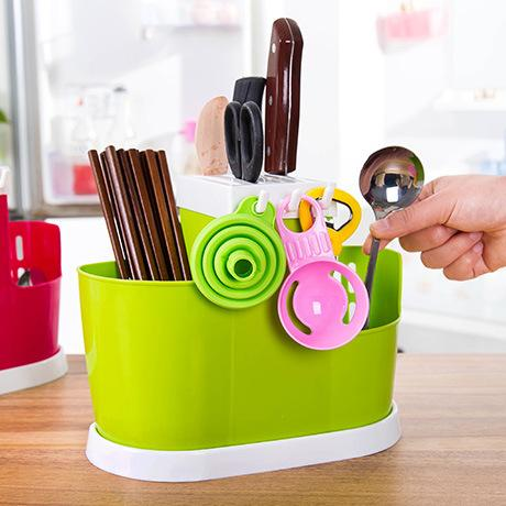 2018 Multifunctional Kitchen Utensils Storage Rack Plastic Kitchen Knives  Shelf Tableware Organizer Eco Friendly From Household1, $10.09 | Dhgate.Com