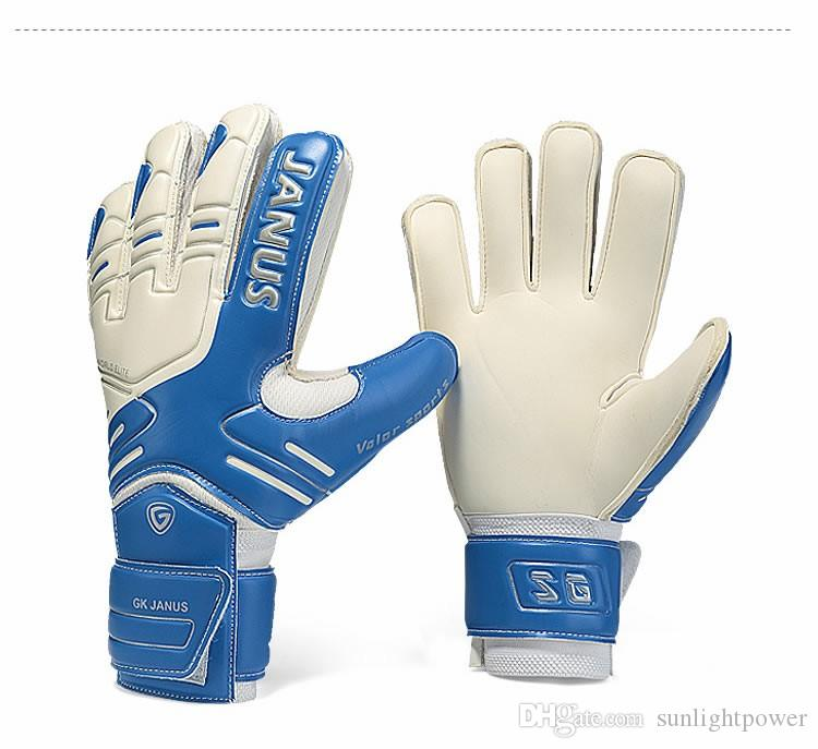 JANUS Brand Professional Goalkeeper Gloves Finger Protection Thickened  Latex Soccer Football Goalie Gloves Goal Keeper Gloves UK 2019 From  Sunlightpower 59e87900f4