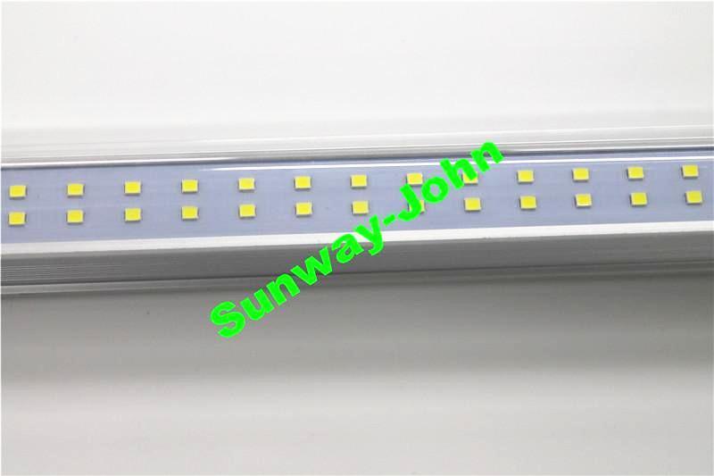 4ft Led Tube Light T8 Integrated LED Lampadine Lampadine 28W 3080LM 4 PIEDI 1.2M Doppia riga SMD 2835 LED fluorescente lampada