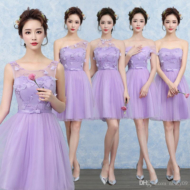 5 Patterns Ladies Wedding Clothes Sexy Strapless Special Occasion ...