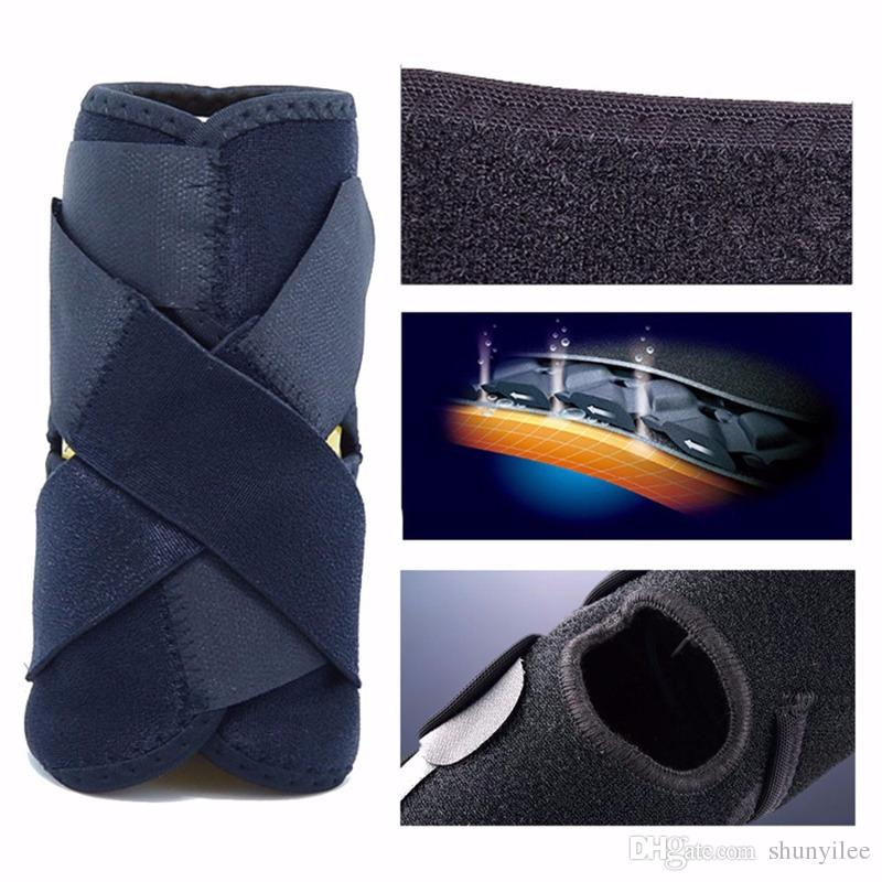 Adjustable Sports Elastic Ankle Support Breathable Ankle Brace Wrap Pad Foot Protection Foot care Safety F2017646