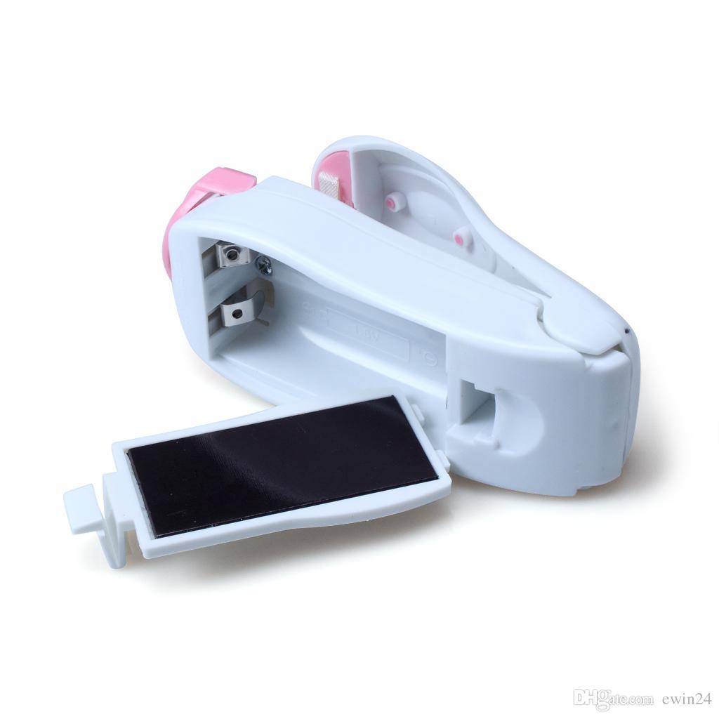 L'étanchéité magnétique de fond Portable Mini température Machine Impulse Sealer SEAL Sacs en plastique Aspirez alimentaire Scellant Mini Portable