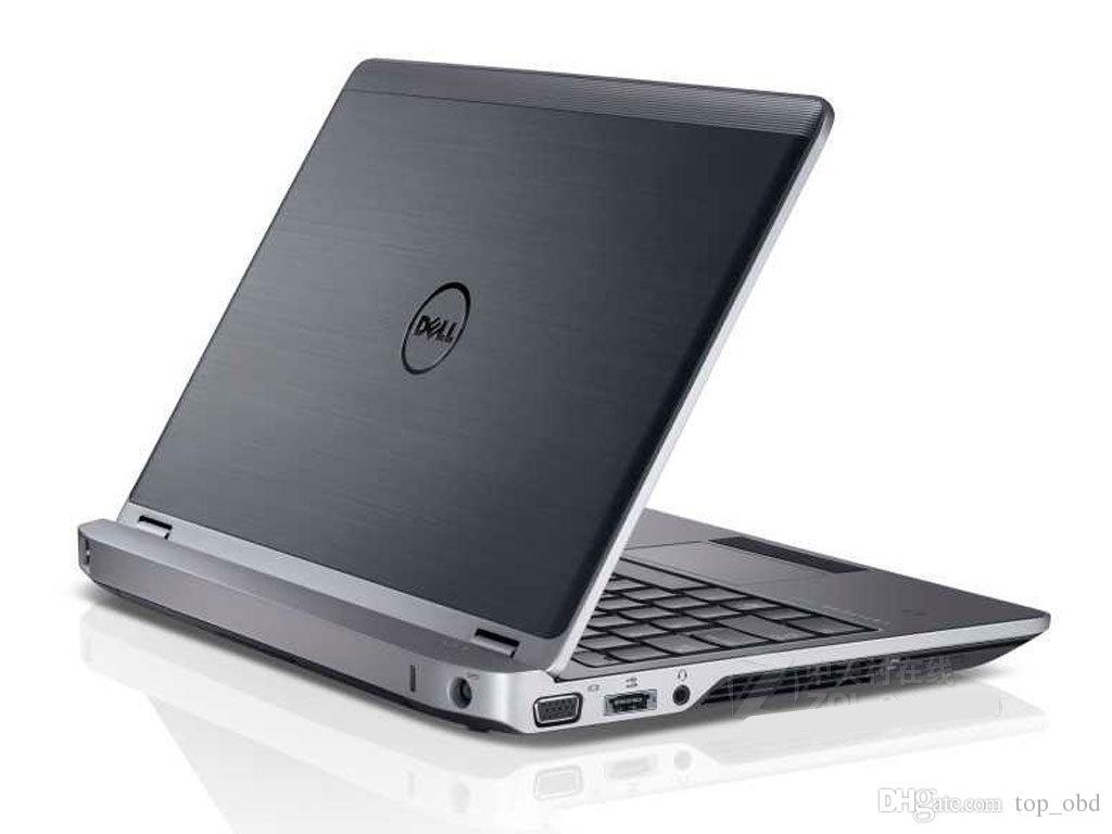 Utilizzato Dell e6220 computer diagnostico i5,4g con 320 hdd con carica adatta programmatore chiave alldata mitchell ck100 sbb autp