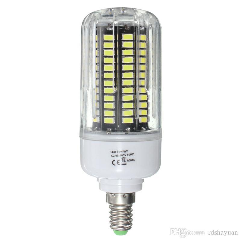 Del Maíz A15 Lámpara Luces SMD LED Ampolla 18W Bulbo Bombillas E27 100 E14 Led Bombillas Del 64 Led Compre 5736 Luz De Proyector Lampada AC85 265V bmIYf7g6yv