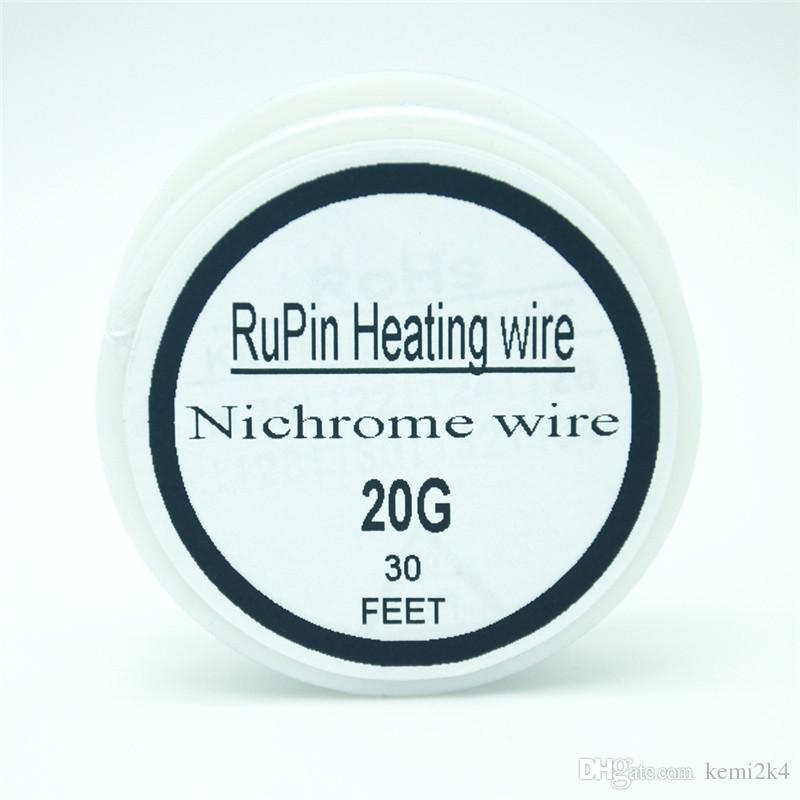Rupin heating wrie nichrome wire 20 gauge 30 ft 08mm resistance rupin heating wrie nichrome wire 20 gauge 30 ft 08mm resistance resistor awg flat ribbon wire build vaping wire uk from kemi2k4 703 dhgate keyboard keysfo Image collections