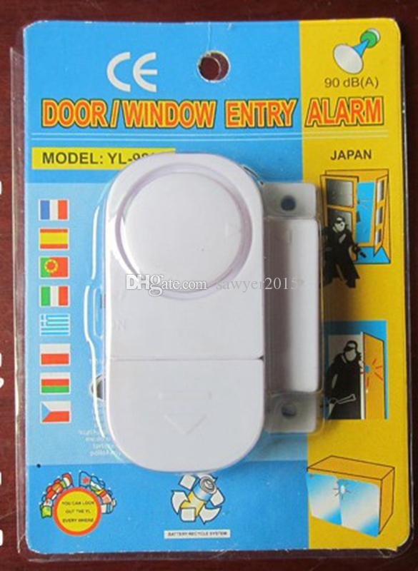 Magnetic Sensor Wireless Home Window Door Entry Anti Thief Security Alarm System Signal Safety Security Alarm Switch Guardian Protector LCC