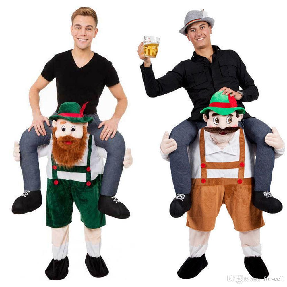Carry Me Bavarian Beer Guy Ride On Oktoberfest Mascot New Fancy Dress  Costume Costumes Canada Flintstones Costumes From For Cell, $46.23