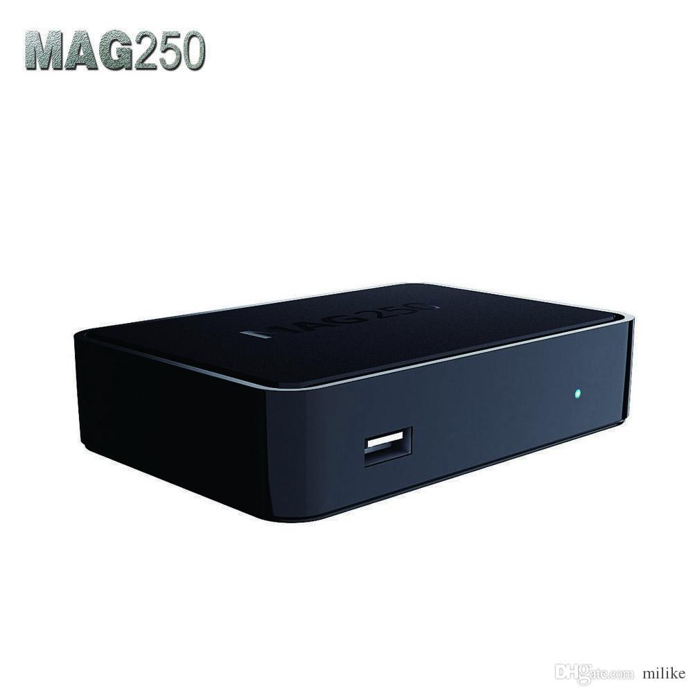 IPTV TV Box Mag250 Sistema operativo linux Scatola superiore senza account Iptv Mag 250 254 Decodificatore Iptv