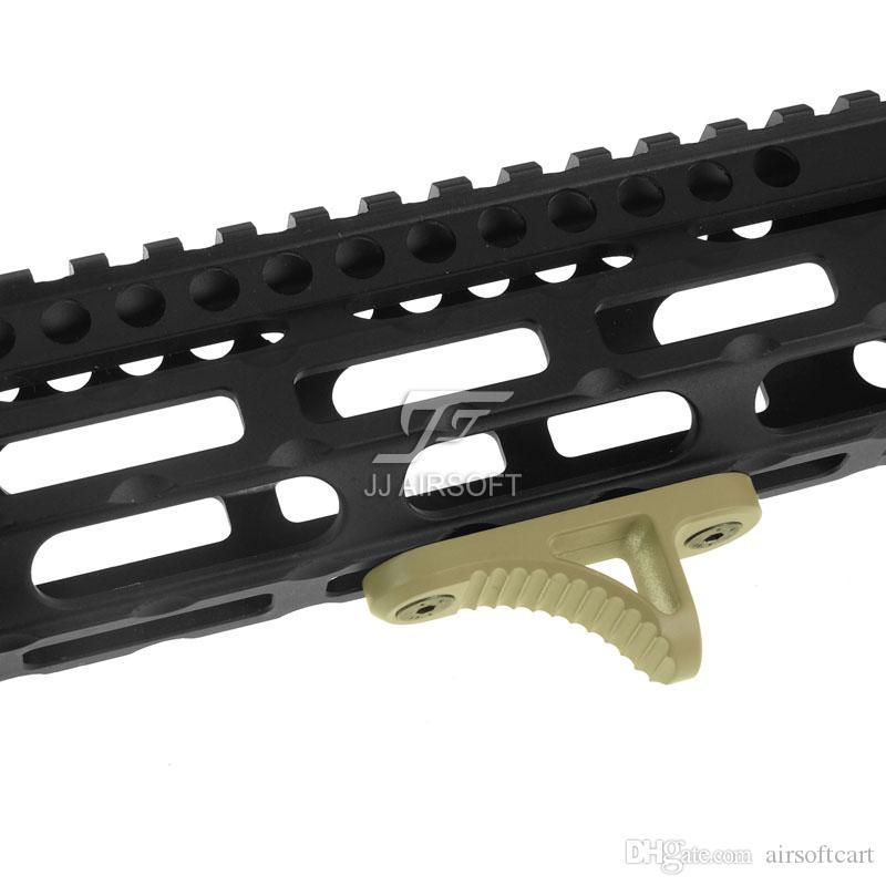 ACI B5 aperto de mão do batente Parar handstop MLOK / MLOK, Short K Model preto / vermelho / Tan / Silver Lightweight