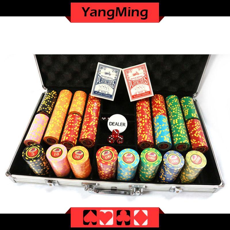 Texas Poker Ton Chip Set Casino Poker Chips Ym Tzpk001