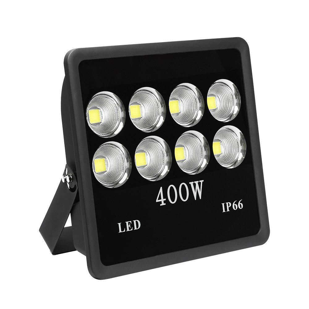 400 watt super bright outdoor high power led flood light with fixture daylight white ip66. Black Bedroom Furniture Sets. Home Design Ideas