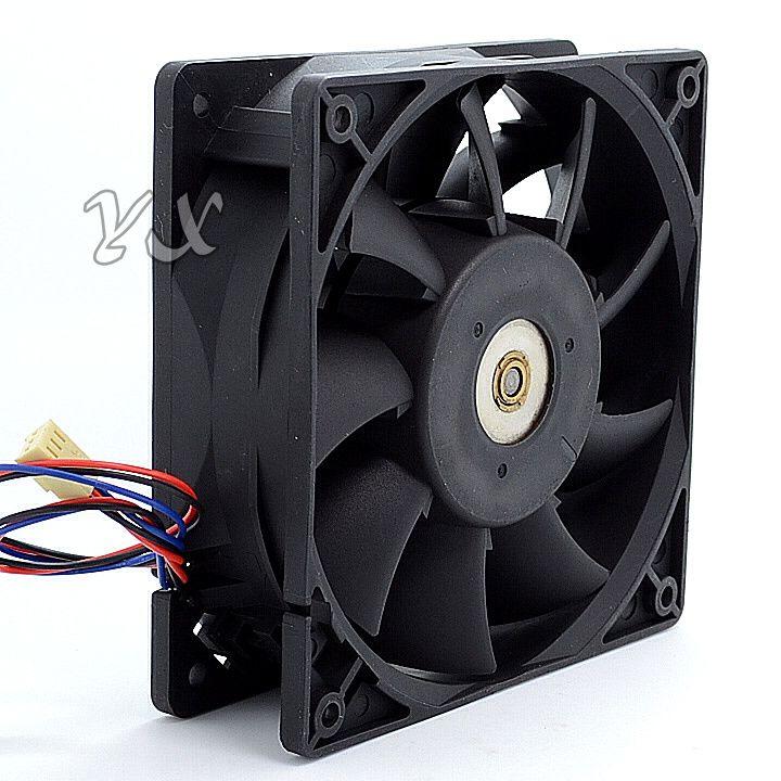 FFC1212DE 2.4A Besoin de violence avec ventilateur à double roulement à billes pour Delta 12012038mm