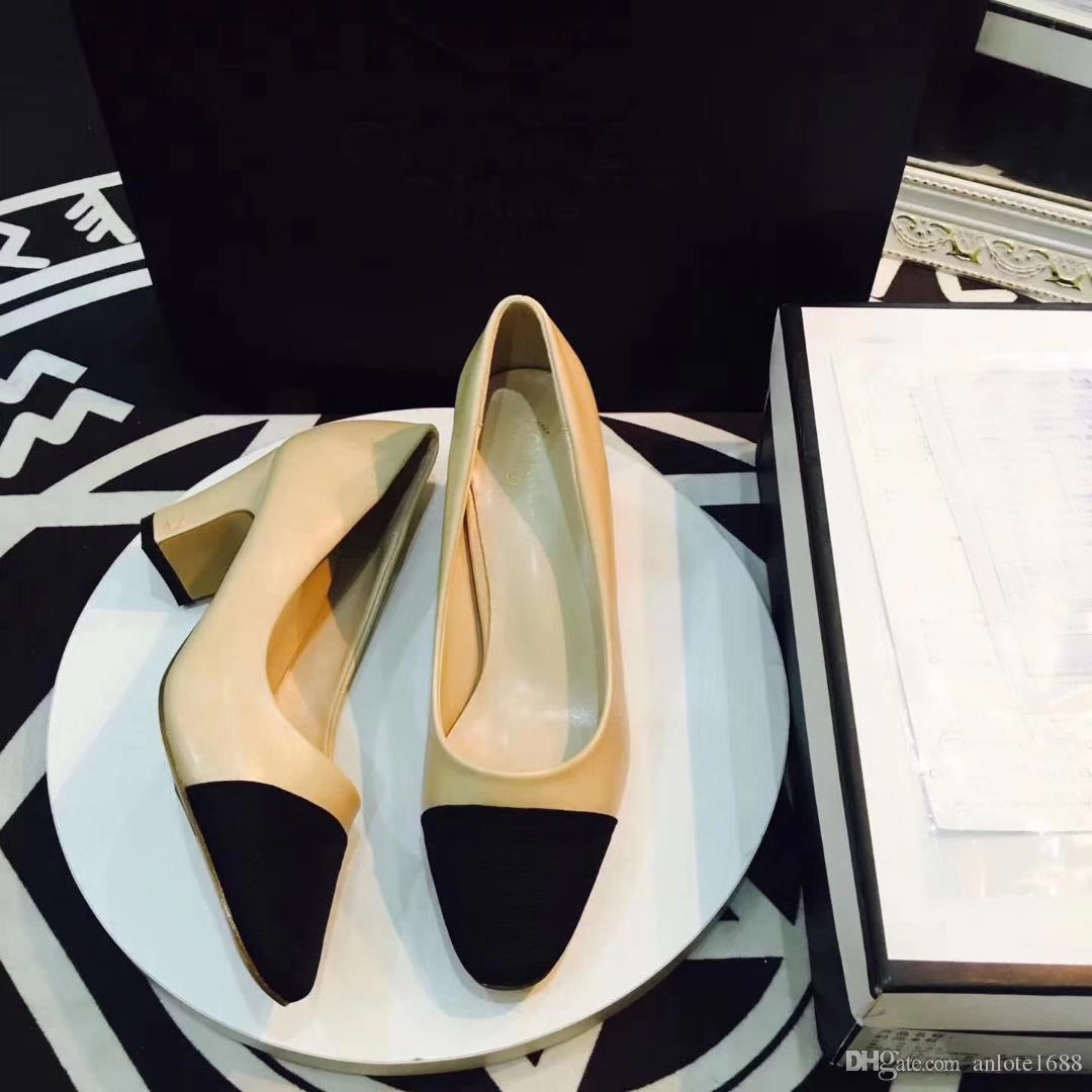 Designer Cuir De Veau Femmes Catwalk Chaton Talons Pompes Slingbacks Sandales Mules Appartements Beige Gris Robe De Mariage Chaussures Simples Avec Boîte D'origine