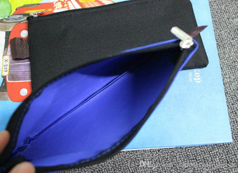 New Design Cartoon Cloth Pencil Bag Pen Cases Creative School Stationery Supplier Holder For Children Kids Gifts