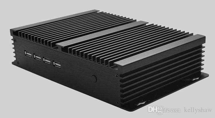 Eglobal 2018 Industrial Desktop GK-C1037U With Black Color Aluminum Alloy 1.8GHz Intel NM76 Express Cheap Mini PC