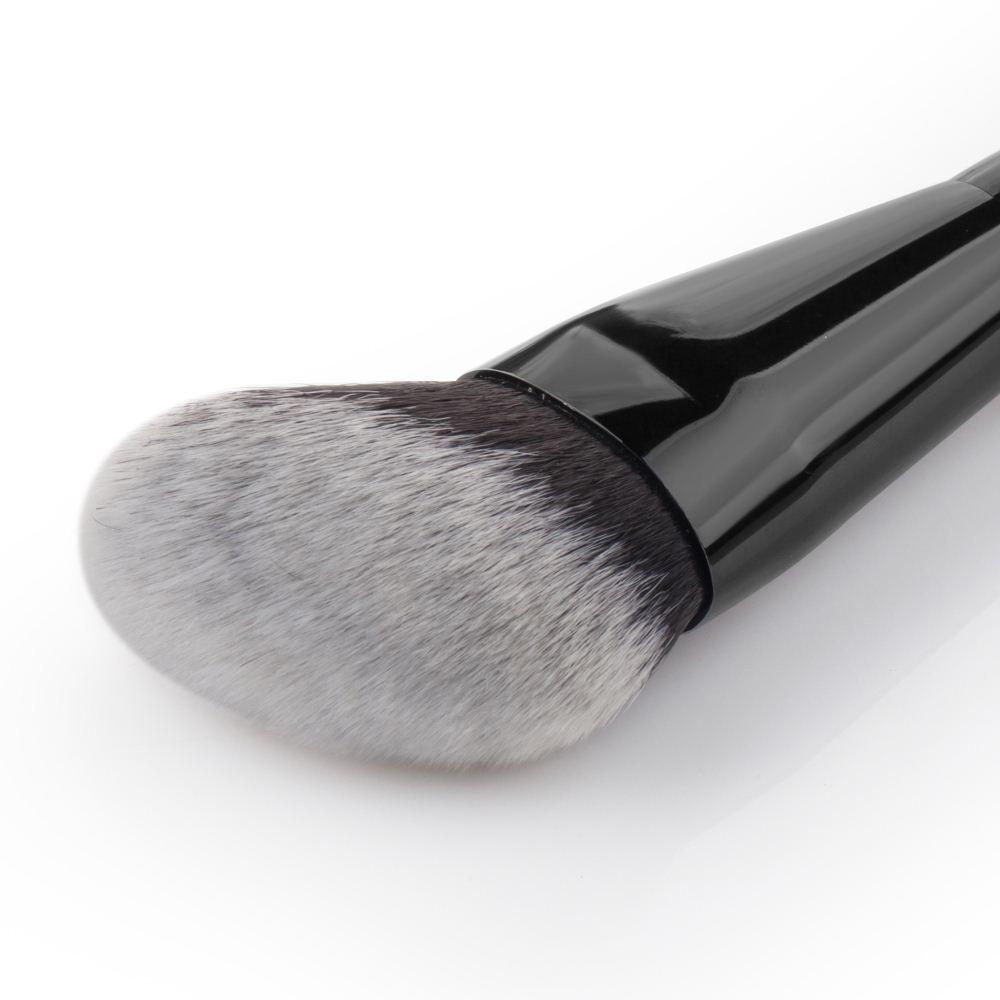 HOT Pro Makeup Round Angled Top Brush Foundation Powder cheek Contour Blush Blusher Blending Brush Cosmetic Beauty tool