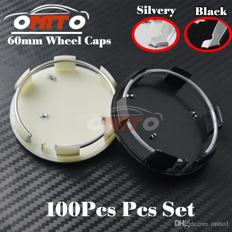 Wholesale Wheel Emblems Cover for 206 307 308 408 3008 301 508 2008 Auto Wheel hub Logo Cap 60MM Silvery Wheel Car Badge logo