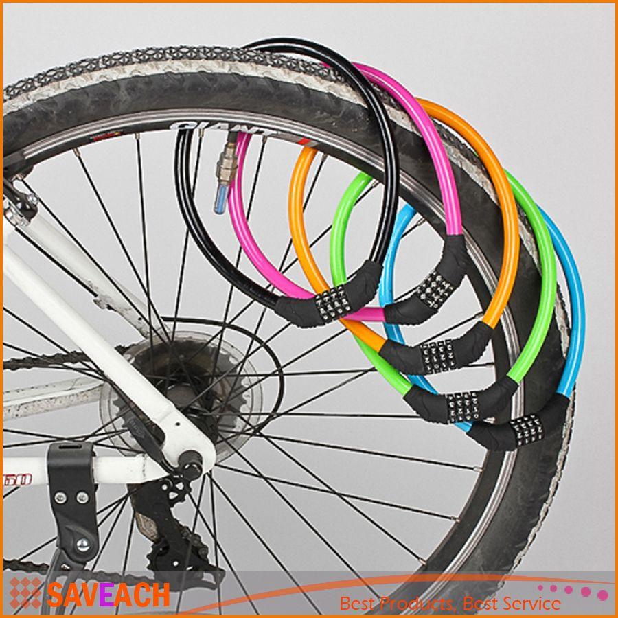 Bike Cable Lock >> 2019 Bicycle Cable Lock 60 1 2cm Bicycle Motor Bike 4 Digital