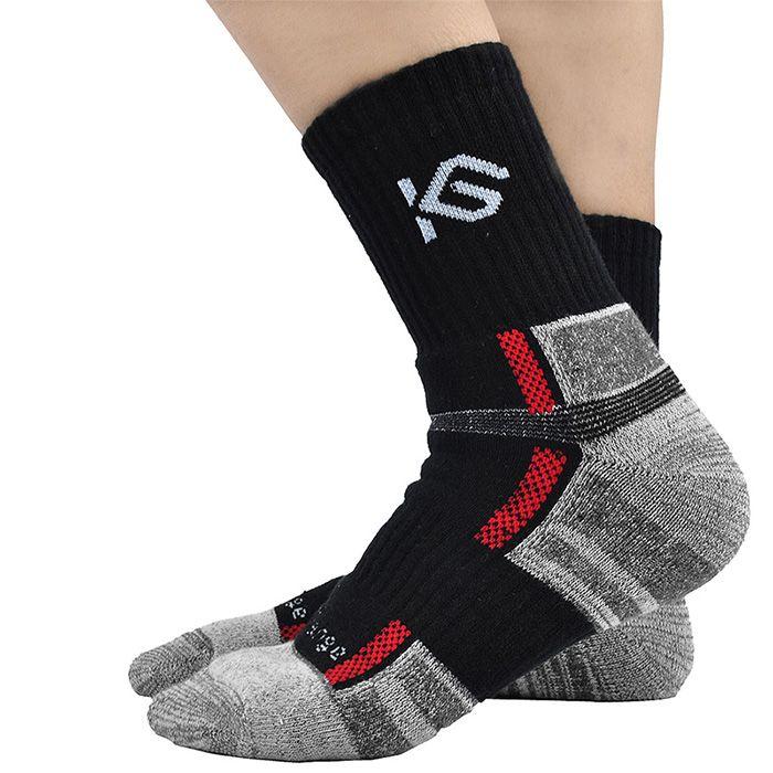 Cycling Bicycle Socks Black / Grey Color One Size Bike Socks