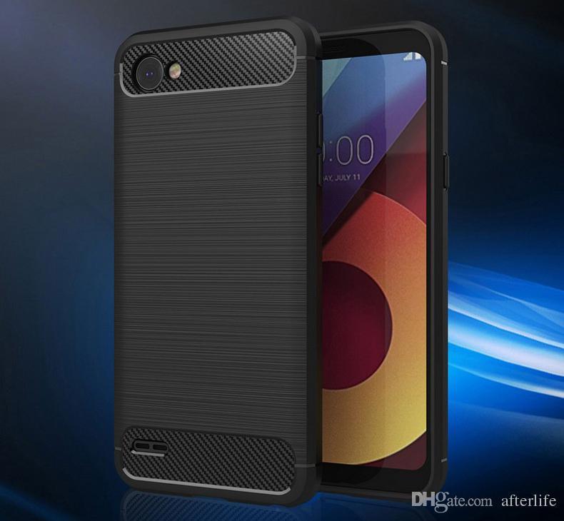 Модный мягкий силиконовый чехол для LG Q6 Защитный чехол для задней крышки телефона для LG Q6 Q6a Q 6 M700 LGQ6 Coque New