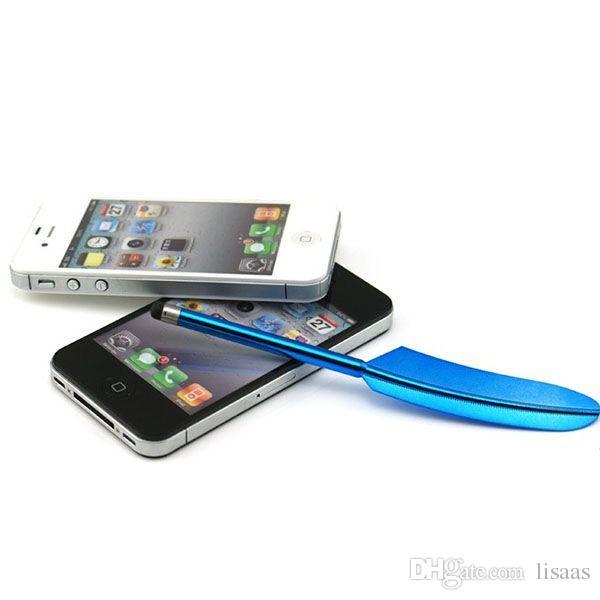 Feder-kapazitiver Stift-Touch Screen Stift für iPhone 6 5 Samsung S6 Tablette PC-Neuheit-Einzelteil /