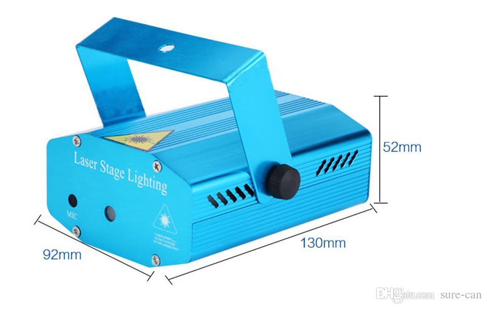 дешевые 2 X мини LED лазерная указка диско этап свет партии шаблон освещения проектор лампы показать ИК-пульт RGB лазерный проектор огни Рождественский подарок