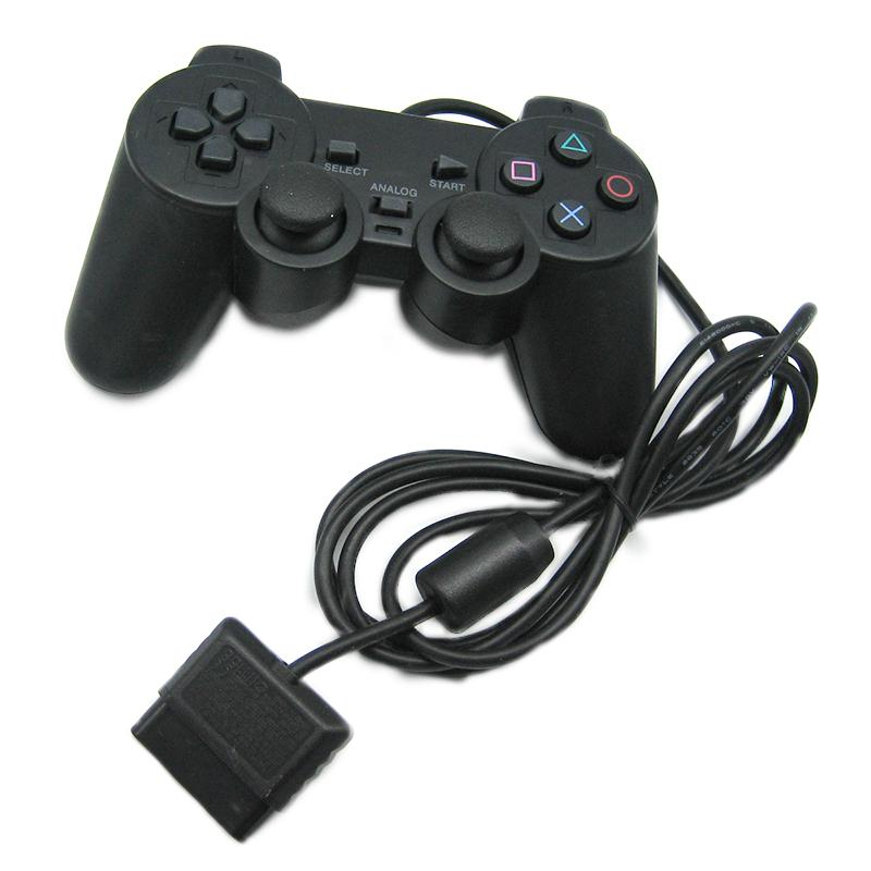 PlayStation 2 Wired Joypad Joysticks Gaming Controller für PS2 Konsole Gamepad Double Shock PS2 Controller Heiße beste Qualität von DHL