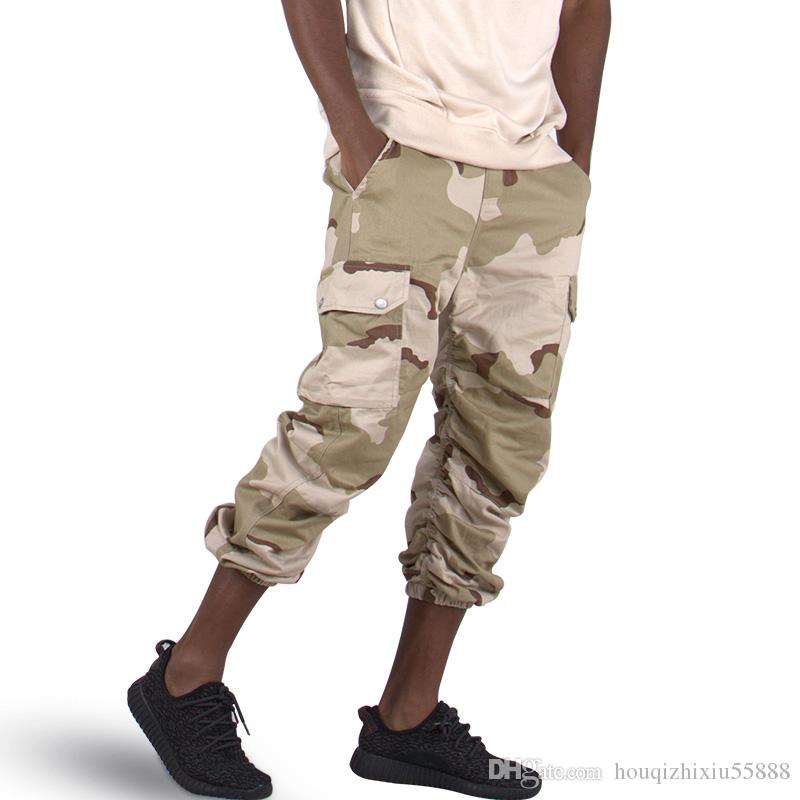 51c3488d3a9 2019 Fashion Camouflage Pants Men Kaki Black New African Clothes Hip Hop  Street Jumpsuit Camo Cargo Loose Men S Tracksuits From Houqizhixiu55888