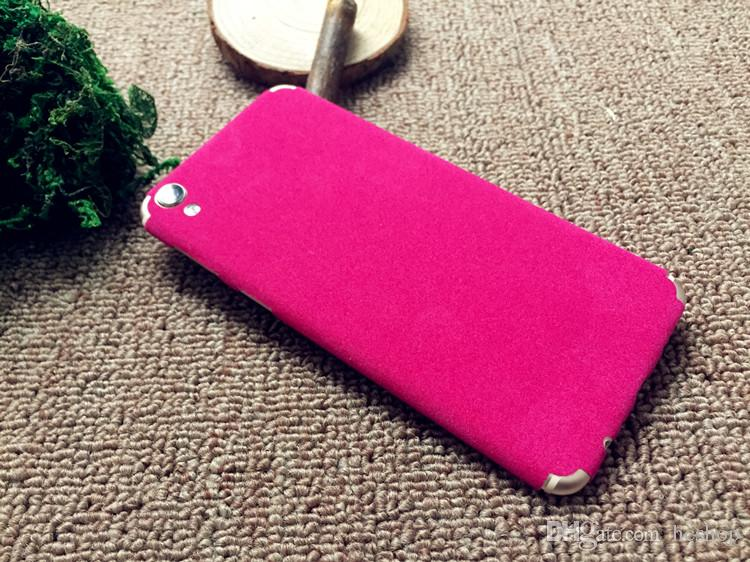 Universal sticker cell phone colorful film 8 inch suede color film diy plush leather lamination diy phone cover cell phones cases custom cell phone case