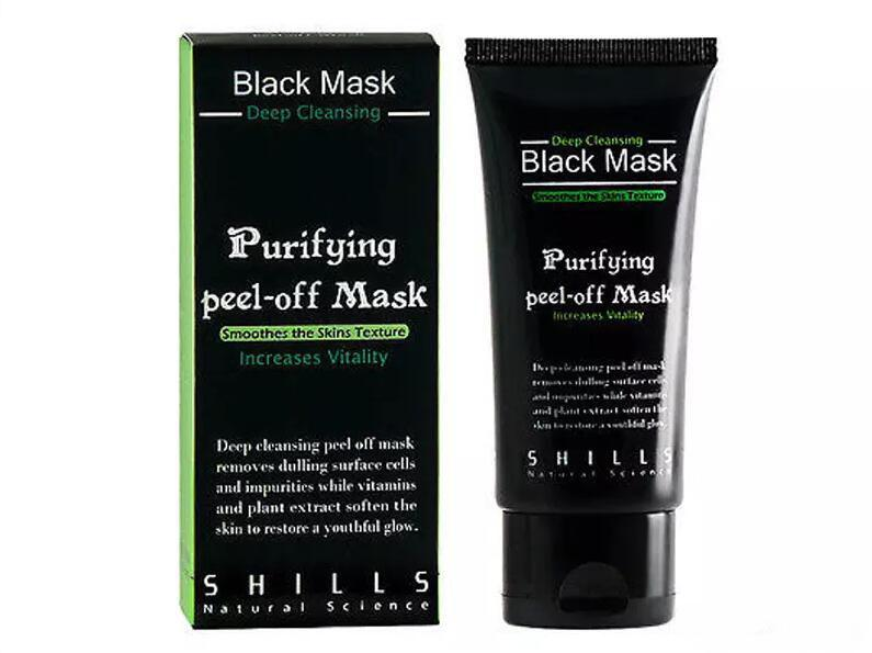 Black Suction Mask Anti-Aging 50ml SHILLS Deep Cleansing purifying peel off Black face mask Remove blackhead Peel Masks
