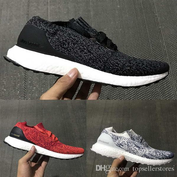 Fashion Casual Shoes Men Women Ultra Boost Uncaged Hypebeast Outdoor  Barefoot Femme Homme Oreo Red Ultraboost Sneaker Shoes Size 36 45s Slip On  Shoes Formal ... d353fd21f504