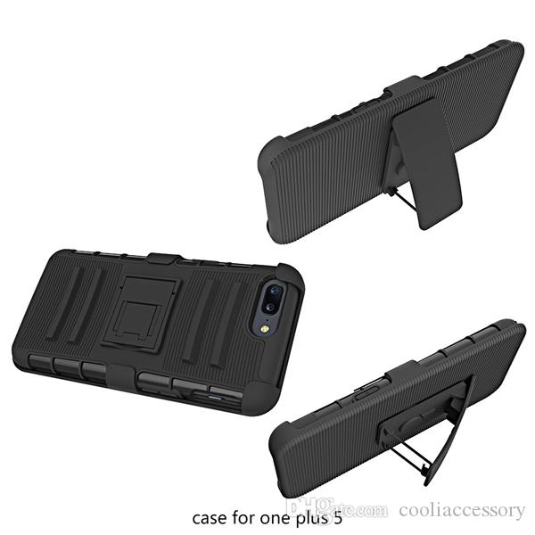 For Samsung Galaxy Note 8 ZTE Zmax Pro Z981 One plus 5 LG V20 Hybrid Armor Clip Belt Hard PC TPU Case 3 in 1 Shockproof Stand Skin Cover