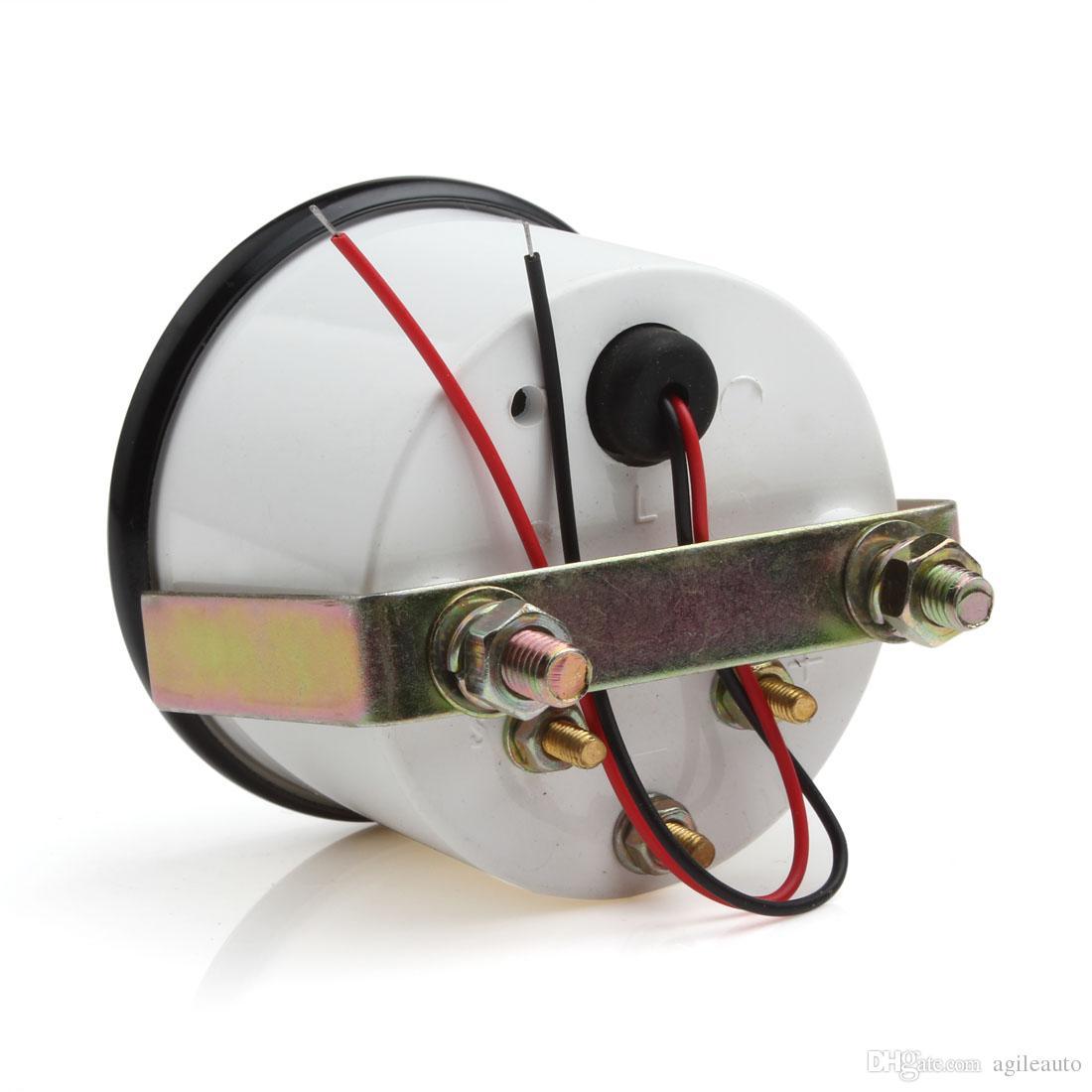 Indicador universal de la temperatura del aceite del indicador del coche de 2 pulgadas Indicador térmico del coche y de la motocicleta Temperatura del aceite del camión 50-150 con la luz del LED CEC_543