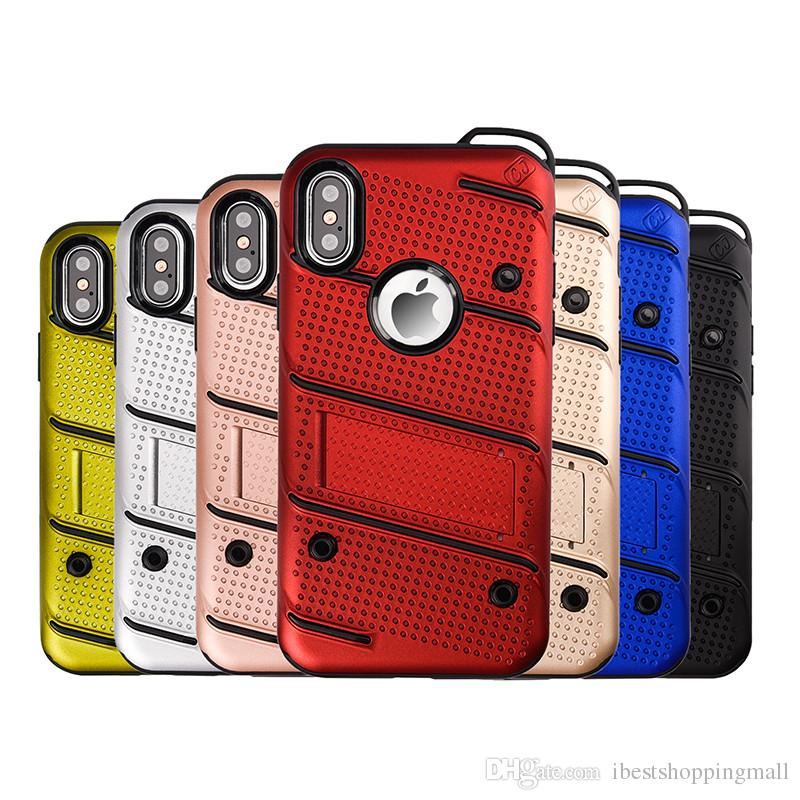 cd83f2c89dc OEM Armor Kickstand Case Soft TPU PC Hybrid Shell Shockproof Cases Cover  For IPhone X 8 7 6 6S Plus 5 5s Sumsung S8 S9 Plus Note 8 Ballistic Cell  Phone Case ...