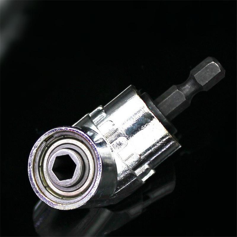 1/4-inç Hex Hızlı Değişim Tahrik ve Manyetik Bit ile 105 Derece Sağ Açı Sürücü Delme ve Sürüş Güç Tornavida Matkap Eki