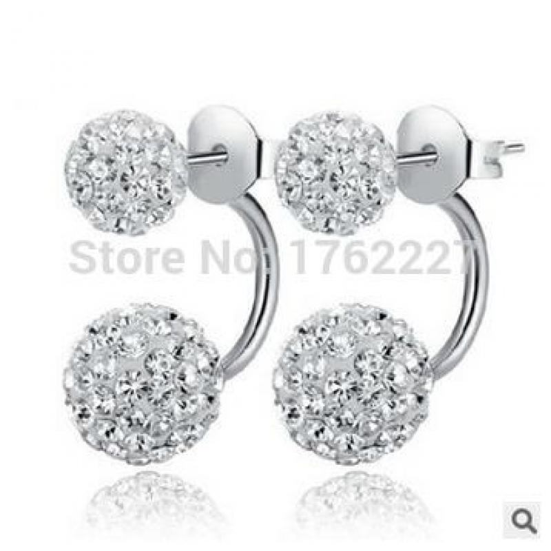 drawings stock white isolated stud earrings on beautiful diamond rendering