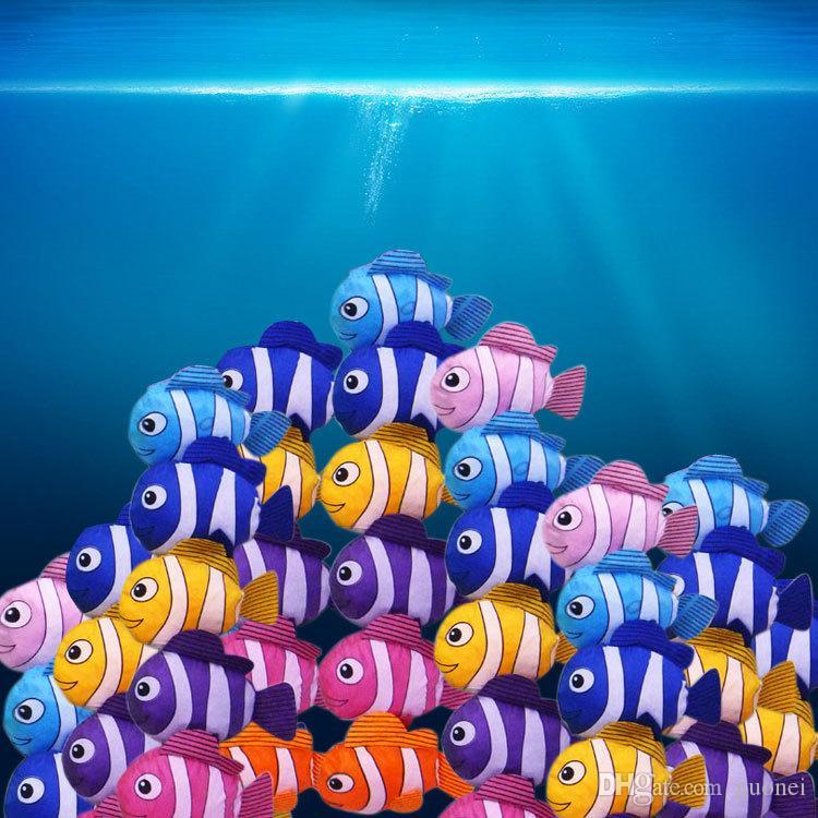 Hot-venda de novos mic muitas cores Tropical Fish dobrável Eco reutilizável senhora Sacos 38cm x58cm Sacos malas hanbags