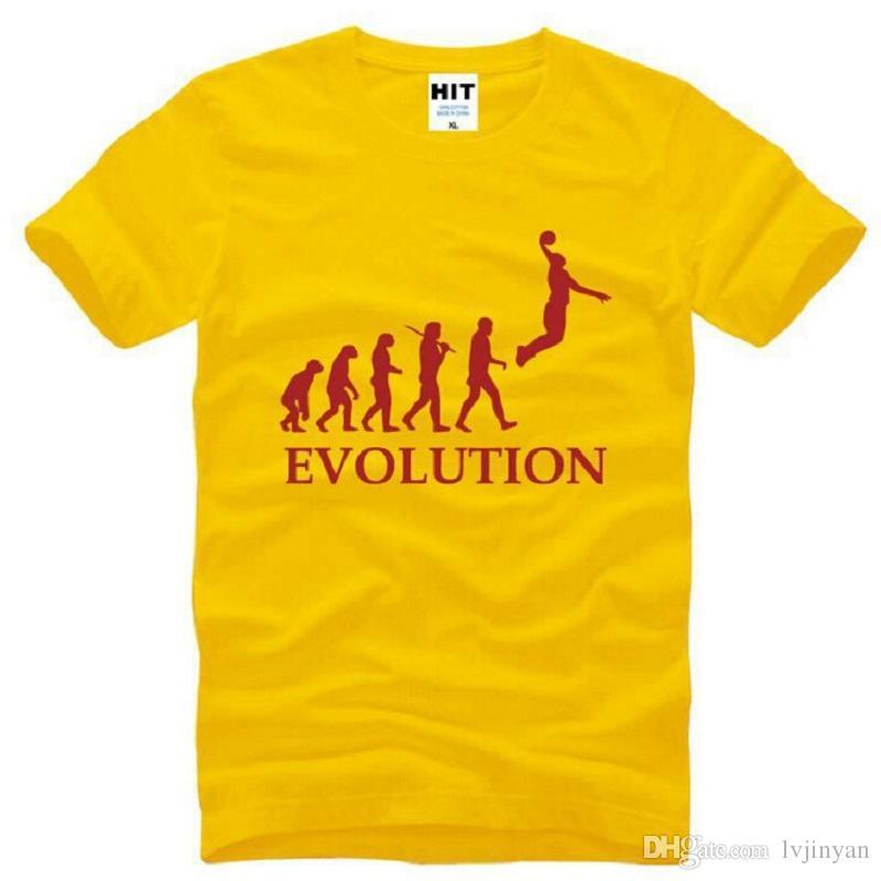 T Basketball Chemises Hommes Nouveau Évolution Designer Acheter IWAFxnqwSO