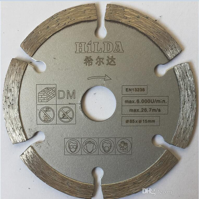 7шт / комплект мини пил лезвия режущие лезвия для мини циркулярной пилы, диаметр 85x15 мм, электрический лезвий пилы, аксессуар