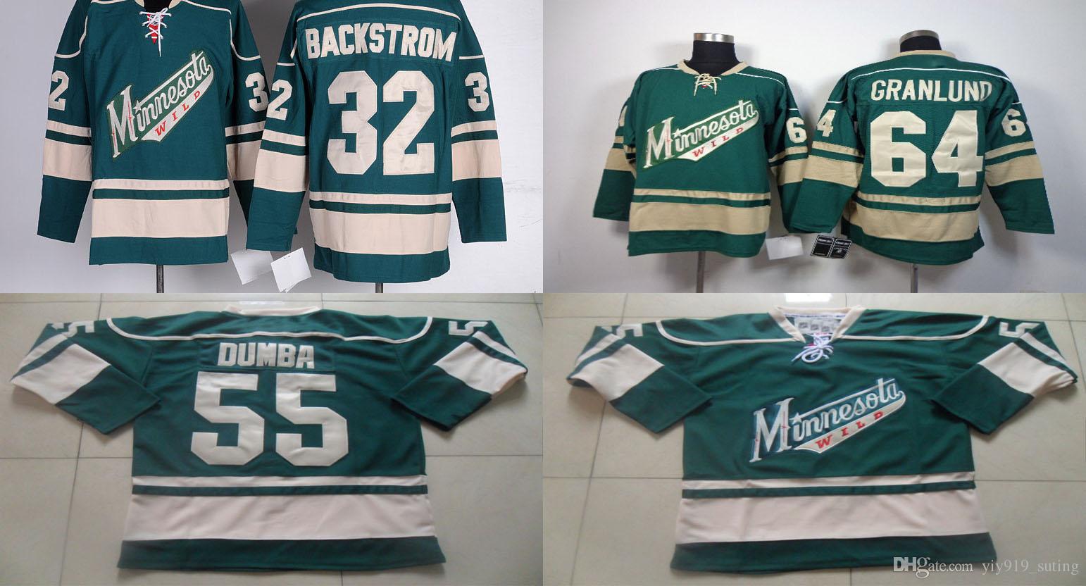 bb5889972d4 ... Green 2016 Stadium Series NHL mikael granlund jersey minnesota wild  mens jerseys 32 niklas backstrom 55 matt dumba 64 mikael ...