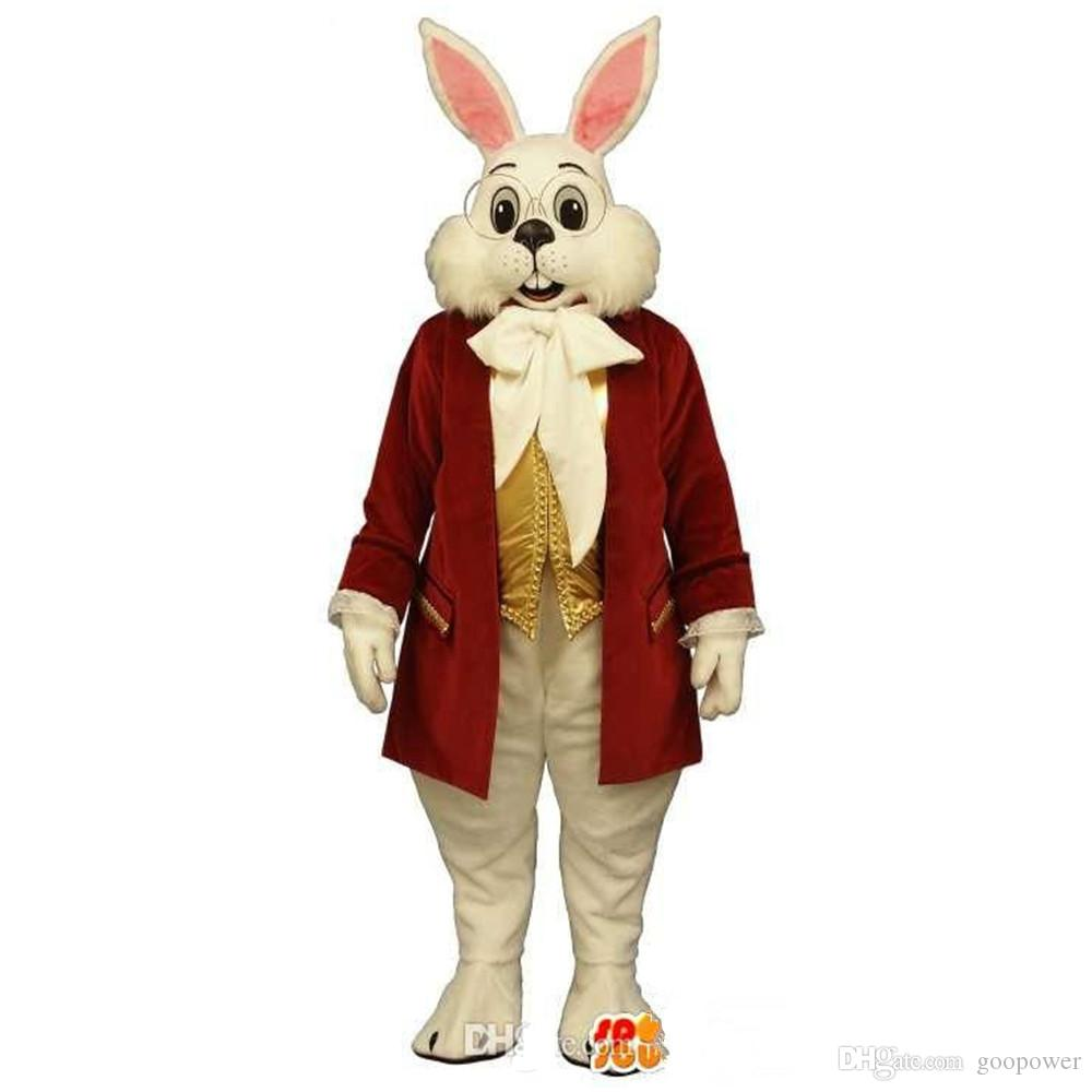 OISK Customized Mr. Rabbit Mascot Costume Miffy Rabbit Easter Mascot ...
