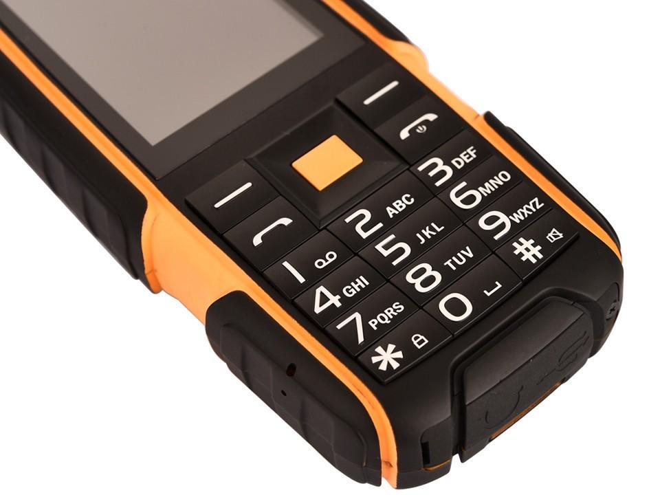 Original NO.1 a9 IP67 Waterproof shockproof Dual SIM Card mobile cell phone 4800mAh battery FM flashlight can Russian keyboard