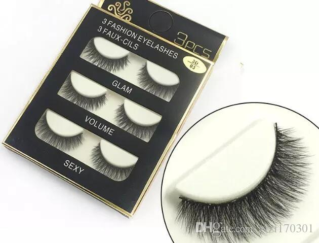 3D mink hair false eyelashes 8 Styles Handmade Beauty Thick Long Soft Mink lashes Fake Eye Lashes Eyelash Sexy High Quality