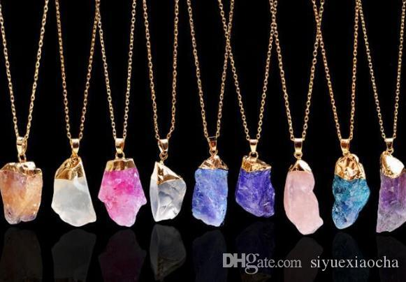 Hot kite dursy Necklace, Hollow out Durzy Nature Stone Pendant Gemstone Druzy Jewelry Cute gift