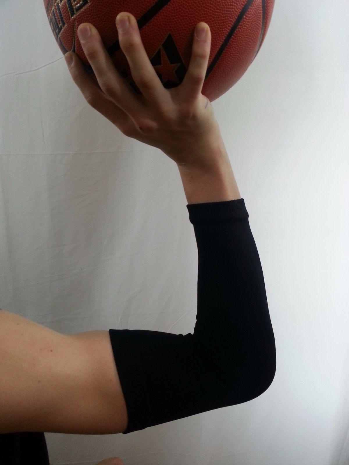 Baloncesto de disparo brazo de compresión manga Béisbol Fútbol Golf Deporte Estiramiento