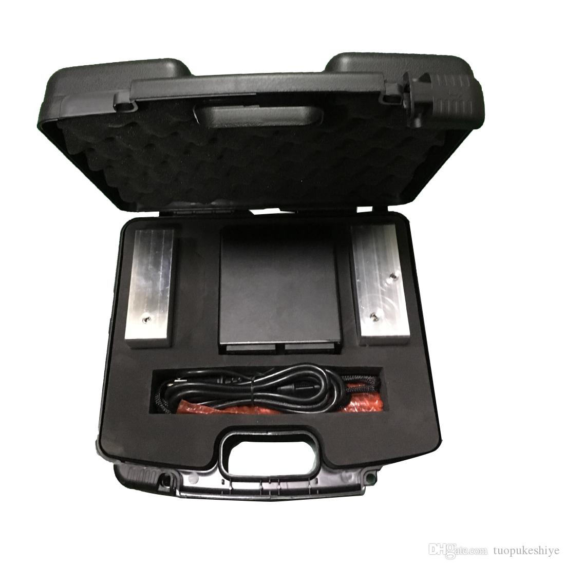 Solid 6061 Aluminium 3x5in Rosin Press Plates include heater rod dual controller PID with carrying case BY DHL