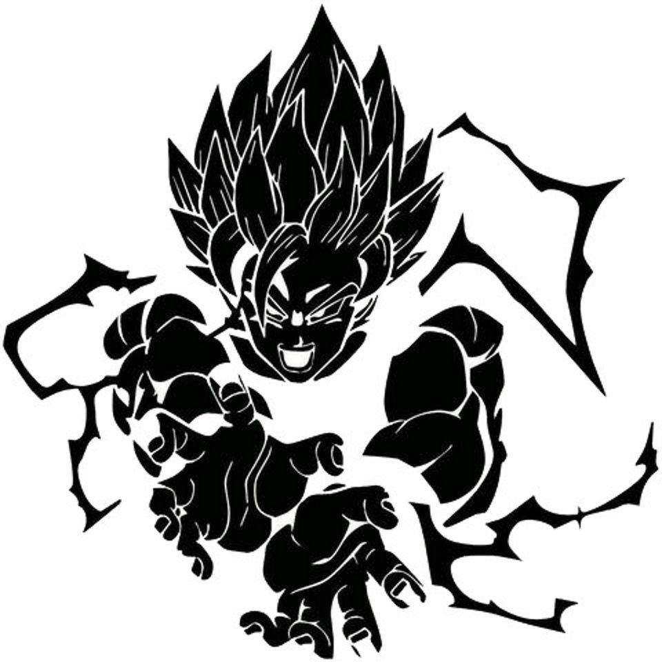 Diamond embroidery diy details about goku dragon ball z weather proof vinyl decal sticker car window diy removable decals removable decals for walls from
